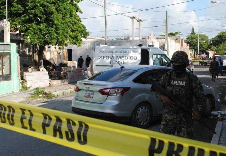 Las autoridades siguen dando golpes contra el crimen organizado. (Redacción/SIPSE)