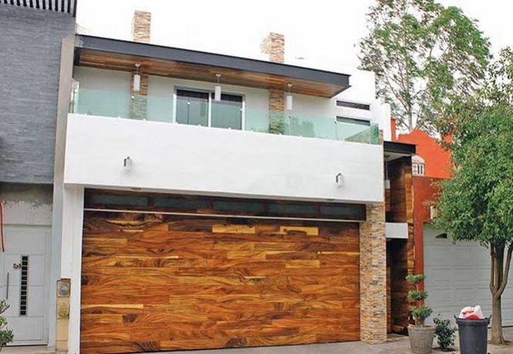 Imagen de una casa del fraccionamiento Acueducto IV, en donde fue localizado y detenido El Chimal. (Jesús Bustamante/Excelsior)