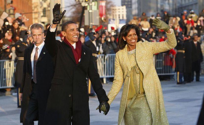 La familia presidencial encabezará un desfile de bandas musicales. (Agencias)