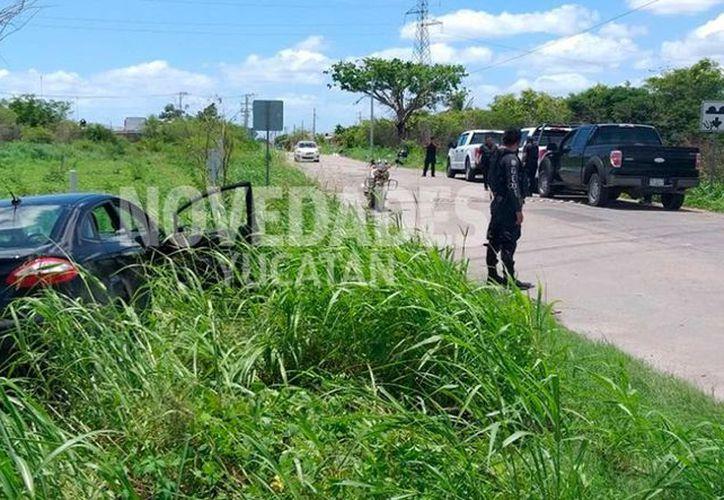 Los tres individuos que protagonizaron la persecución en el Anillo Periférico, fueron acusados de delitos contra la salud. (Novedades Yucatán)