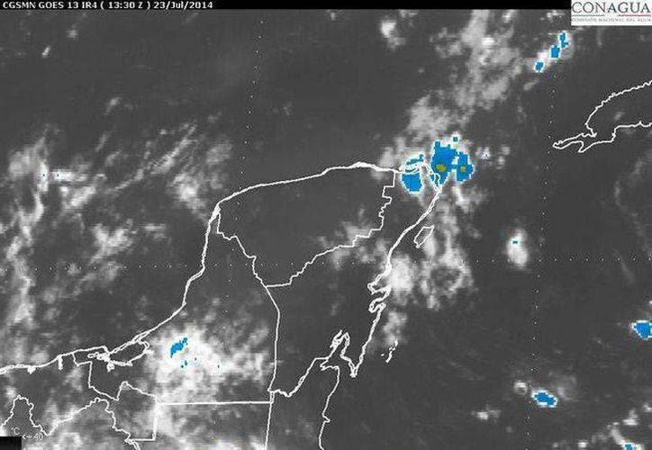La temperatura máxima en Quintana Roo será de 34 grados centígrados. (Redacción/SIPSE)