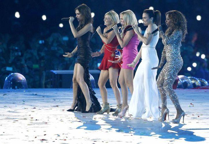 La última vez que las Spice Girls fueron vistas juntas fue en la ceremonia de clausura de Londres 2012. (EFE/Archivo)