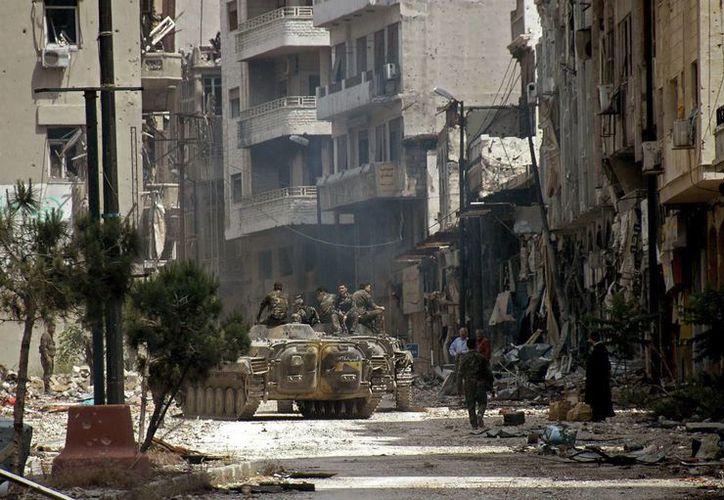 El conflicto en Siria comenzó en marzo de 2011 como una protesta mayoritariamente pacífica contra el régimen de Assad. (Archivo/EFE)