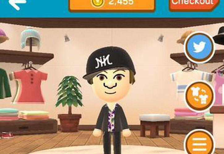 La aplicación 'Miitomo', te ayuda a crear tus propios avatares utilizando la cámara del teléfono celular. (AP)