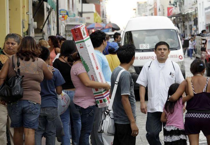 Las tiendas tuvieron una buena jornada de ventas navideñas. (Christian Ayala/SIPSE)