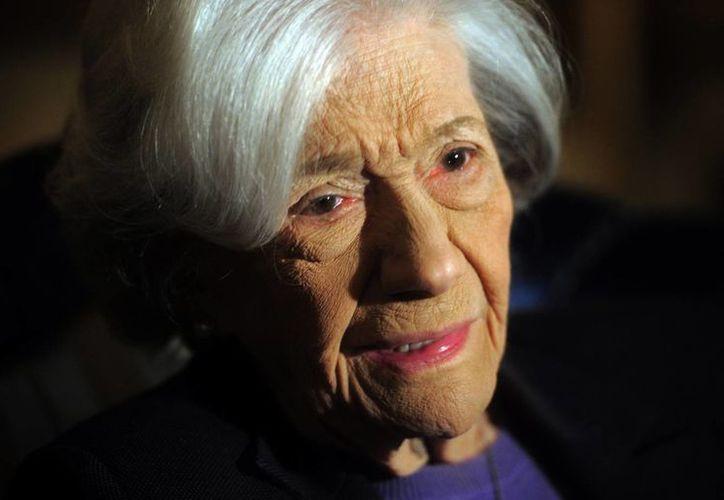 Ana María Matute ganó numerosos premios literarios en español. (AP)