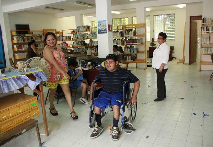 En el primer recinto se invertirán alrededor de un millón cien mil pesos. (Tomás Álvarez/SIPSE)