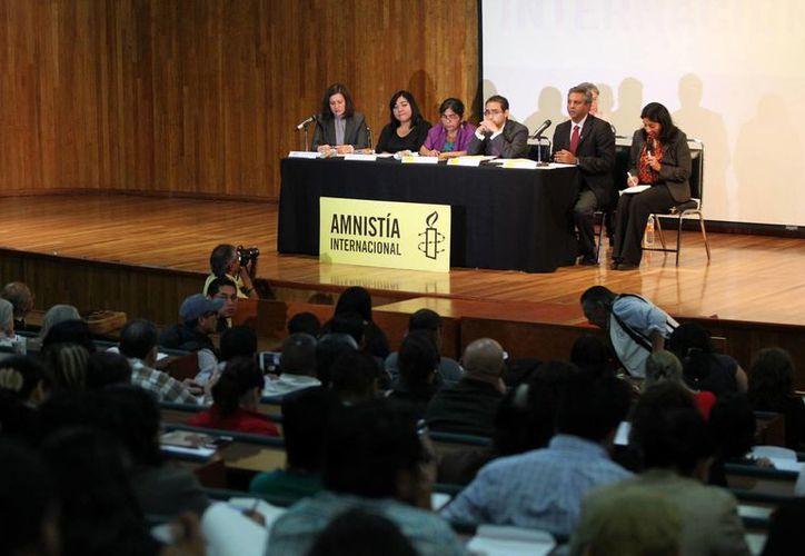 Amnistía Internacional espera que Peña Nieto responda a su carta, que fue adelantada en el sitio web de AI. (Notimex/Foto de contexto)