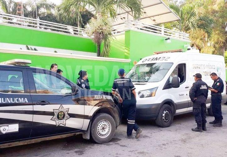Al lugar arribó personal del Ministerio Público y Servicios Periciales de la Fiscalía General del Estado. (Novedades Yucatán)