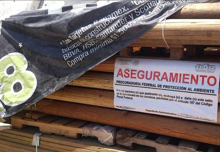 En el año se han asegurado 26 mil 923 metros cúbicos de madera. (Archivo/Notimex)