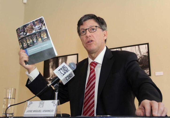 Vivanco se manifestó a favor de la eliminación del arraigo. (Notimex)