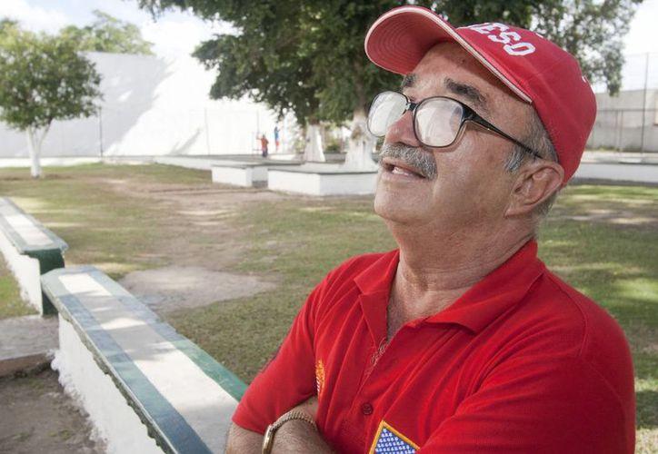 Cesáreo Quezadas Cubillas, mejor conocido como Pulgarcito,  accedió a hablar sobre su caso en medio del festejo por su cumpleaños 64. (Notimex)