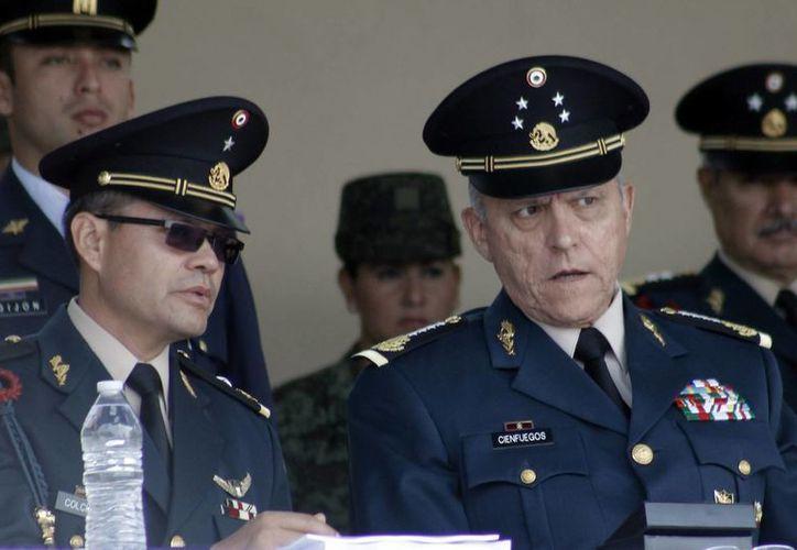 El secretario de la Defensa Nacional llamó a seguir el ejemplo de los héroes insurgentes ante la transformación que atraviesa México. (Archivo/Notimex)