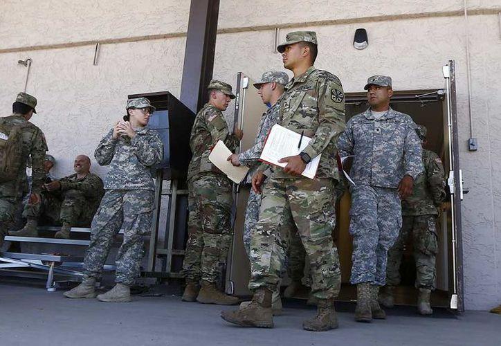Ls miembros de la Guardia de California estarán desplegados en la frontera, en la costa y en otros lugares del estado. (Foto: AP)