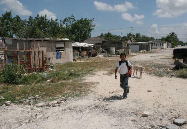 Aumentan servicios básicos en viviendas de Cancún. (Tomás Álvarez/SIPSE)