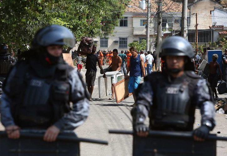El objetivo de la movilización militar es combatir sobre todo el narcotráfico, contrabando, tráfico de armas, violaciones ambientales, contrabando de vehículos, inmigración ilegal y explotación mineral. (EFE)
