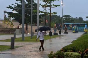 Fotos de la tormenta con granizo en Mérida
