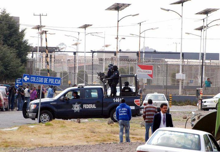 Las fuerzas federales desplegaron fuerte operativo de seguridad alrededor del penal del Altiplano (Edomex), donde se encuentra recluido Joaquín Guzmán Loera, 'El Chapo'. (Notimex)