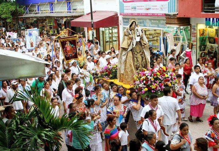 Los festejos religiosos en honor a la Virgen del Carmen iniciarán el 4 de julio. (Octavio Martínez/SIPSE)