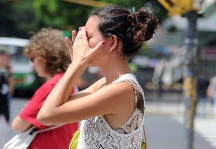 Las altas temperaturas causan irritabilidad en muchas personas, según un estudio. (Redacción/SIPSE)