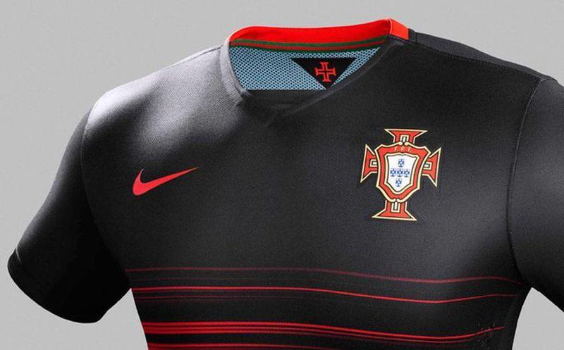 c3f6738f7531e La Federación Portuguesa de Futbol dio a conocer los nuevos uniformes de la  Selección de Futbol