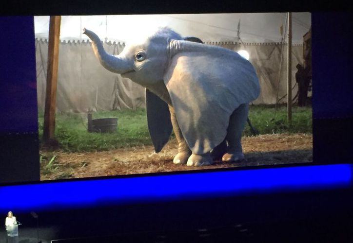 """Dumbo tiene ciertos rasgos más """"salvajes"""" que el dibujo animado original. (Internet)"""