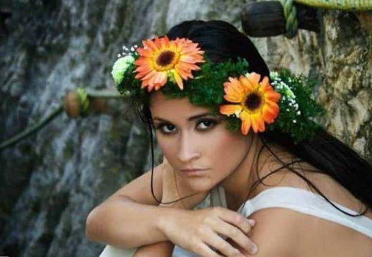 Mafer, fue la belleza que represento a México en el certamen que se realizó el año pasado. (Foto/Internet)
