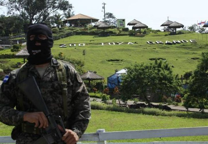 Aseguramiento del Zoológico y Eco-Parque Joya Grande, de 279 hectáreas. (www.laprensa.hn )