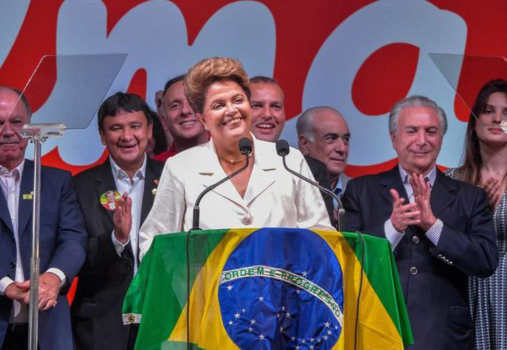 Dilma Rousseff, en imagen de archivo, escogió a políticos de su partido y de partidos que conformar su coalición. (Foto: Archivo/Notimex)
