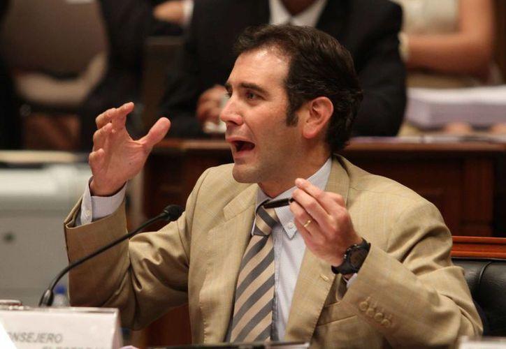 Los diputados eligieron por mayoría a Lorenzo Córdova como titular del INE. (Notimex)