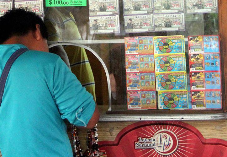 En el fin de semana pasado cayeron en Yucatán dos premios de la Lotería Nacional. (Milenio Novedades)