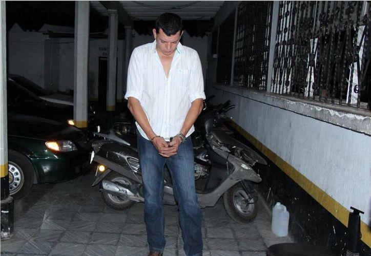 'El Palanca' era buscado en Guatemala desde el año pasado. (Twitter.com/@RadioPuntoGT)