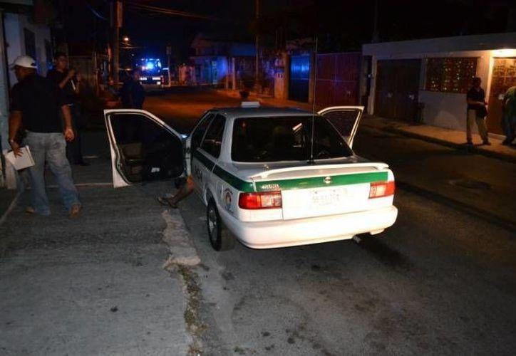 En lo que va del año, 18 taxistas han sido víctimas de robo. (Eric Galindo/SIPSE)