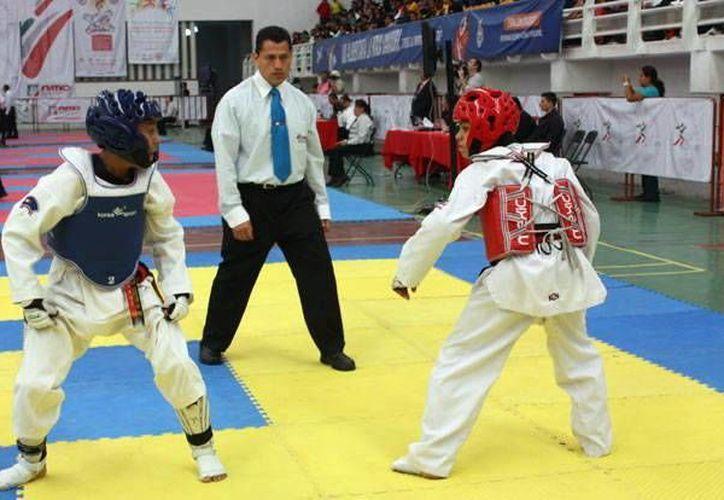 La primera medalla en tae kwon do fue en la categoría sub 13. (Milenio Novedades)