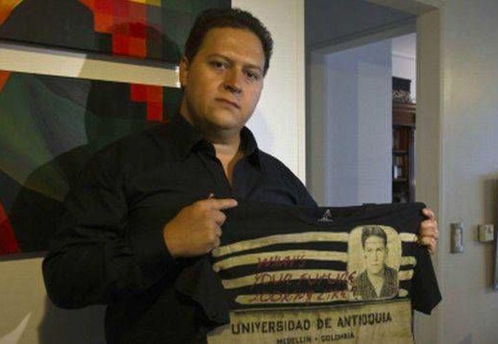 Sebastián Marroquín, quien años atrás se llamaba Juan Pablo Escobar y es hijo del legendario narcotraficante, confesó que en la adolescencia juró vengar la muerte de su padre. Después se arrepentiría. (Archivo AP)