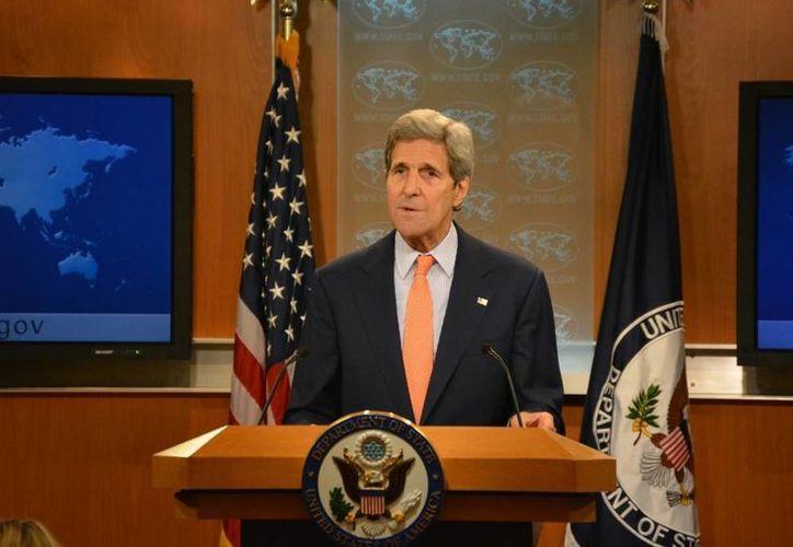 John Kerry asegura que Roberta Jacobson, designada embajadora de EU en México pero cuyo encargo no ha sido avalado por el Senado, es una de las mejores diplomáticas del país. (Archivo/Notimex)