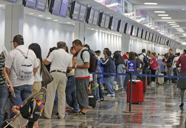 En lo que va del año, sólo se han registrado 20 quejas por retardos o negativa de vuelo. (Foto: Jesús Tijerina/SIPSE)