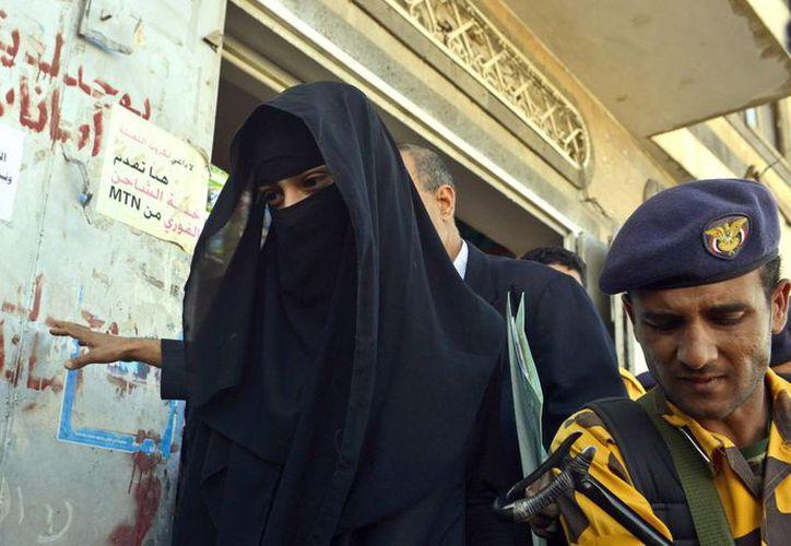 El abogado de Huda indicó que la joven se encuentra bajo protección internacional. (EFE)