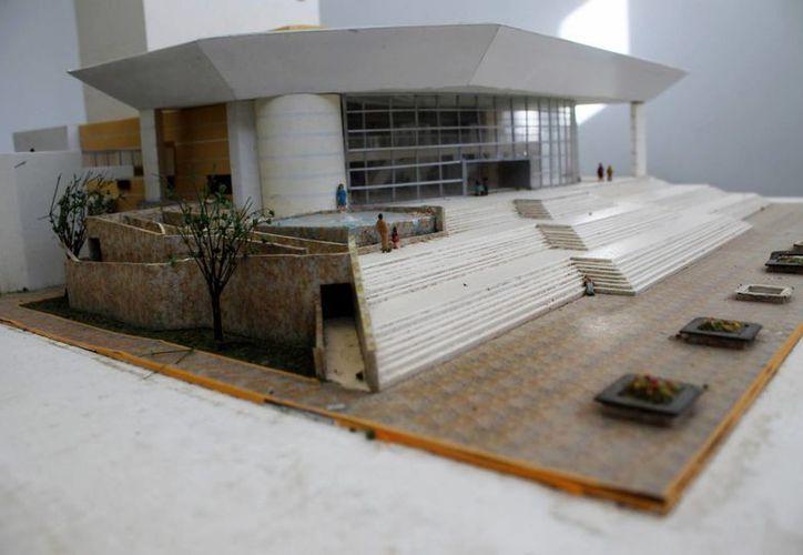 Se proyecta que el Teatro de la Ciudad esté equipado y listo para operar en los primeros meses de 2015.  (Juan Cano/SIPSE)