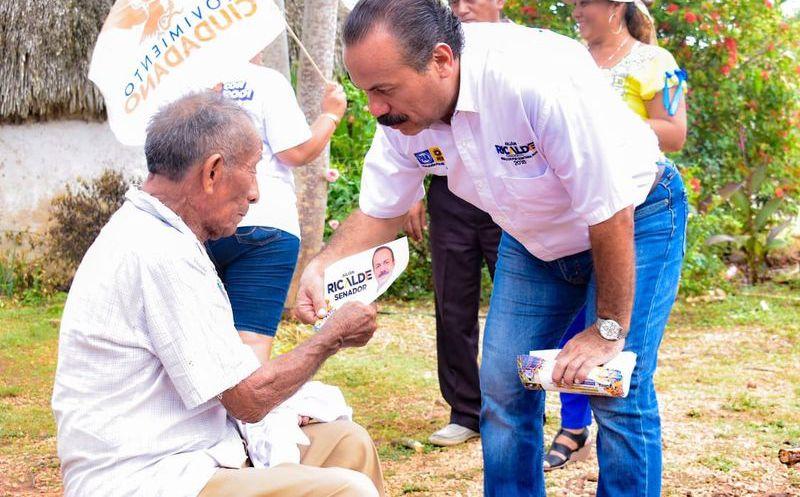 Los principales temas de la agenda de Julián Ricalde en el Congreso de la Unión para la zona maya son empleo y salud. (Foto: Redacción)