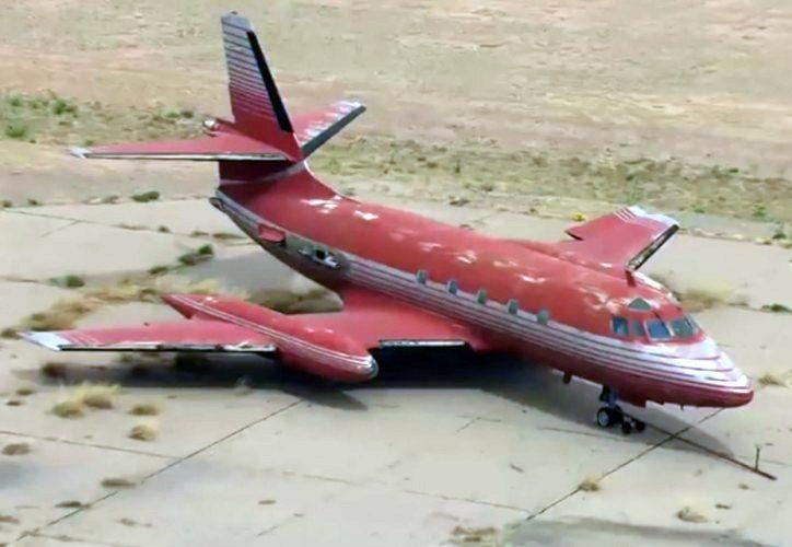 Ha sido complicado vender el avión, debido a su lamentable estado. (Internet)