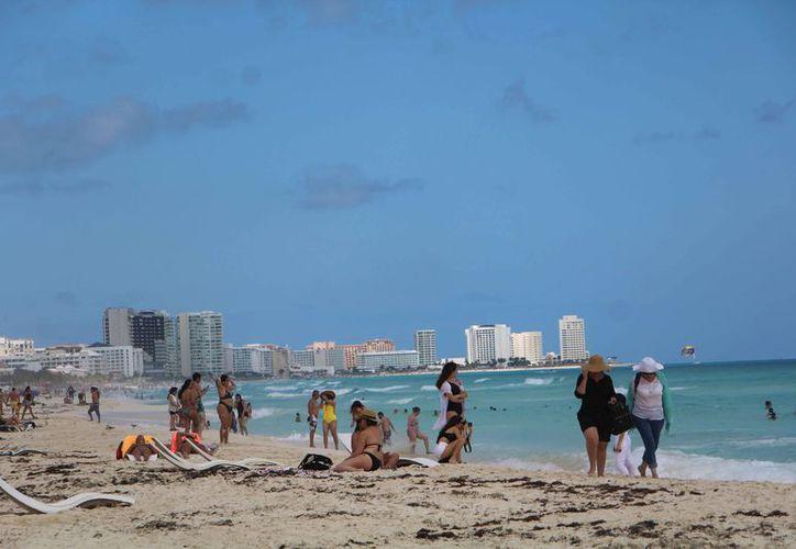 Tratan de traer más turistas colombianos a este destino de playas. (Paola Chiomante/SIPSE)