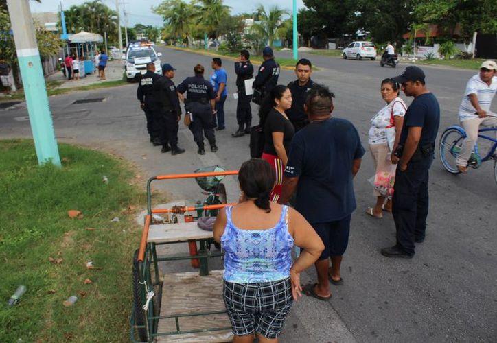 U hombre fue asaltado y herido con violencia a plena luz del día sobre la avenida Universidad, en Chetumal. (Redacción/SIPSE)