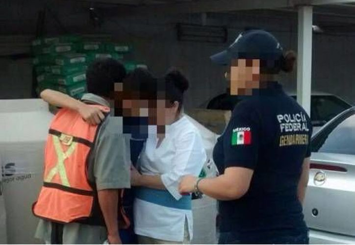 Los afectados fueron entregados a las autoridades correspondientes. (Eric Galindo/SIPSE)