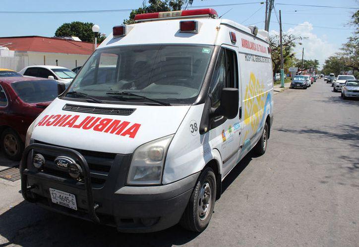 El sistema tiene 39 ambulancias, pero la mayoría están en la zona norte. (Joel Zamora/SIPSE)