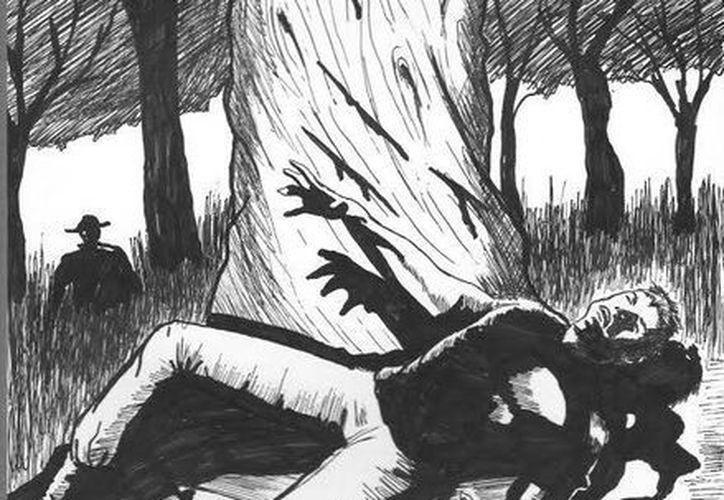 Afirman que Juan Tuul mata a machetazos a los vaqueros que no cumplen con el pacto y los deja a un costado de un árbol marcado. (Jorge Moreno/SIPSE)