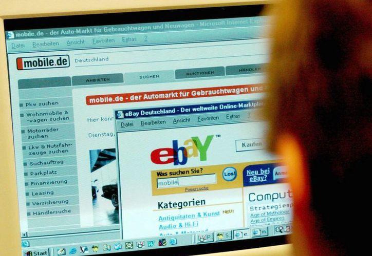 La información comprometida incluye los nombres, contraseñas cifradas, direcciones electrónicas, domicilios, números de teléfono y fechas de nacimiento de los clientes de eBay. (Archivo/EFE)