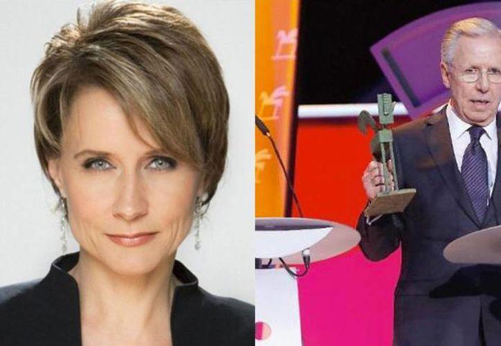 Este lunes Televisa anunció a Denise Maerker como la nueva titular del noticiero que Joaquín López-Dóriga dejará en agosto próximo. (Imagen tomada de www.am.com)