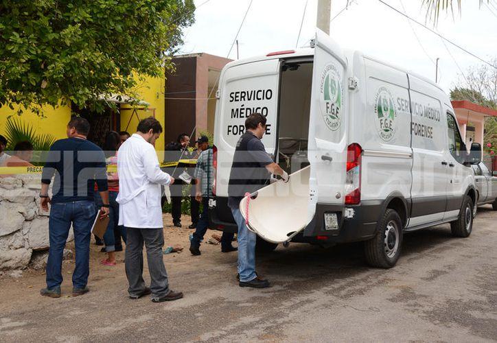 El lamentable hecho sucedió en un domicilio de Conkal. (Fotografía: Victoria González/SIPSE)