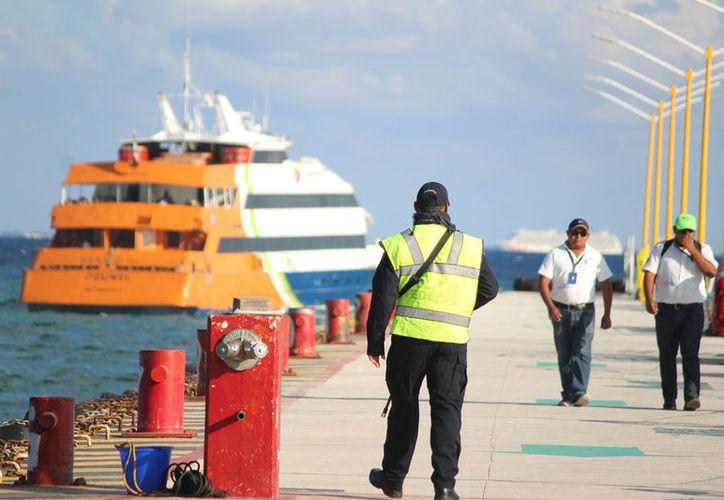 Los puertos de Quintana Roo serán contarán con el Código PBIP, protocolo de protección que hasta hoy sólo se aplica en puertos de altura. (Foto: Daniel Pacheco)
